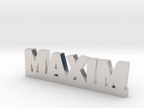 MAXIM Lucky in Platinum
