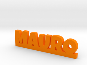 MAURO Lucky in Orange Processed Versatile Plastic