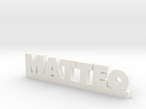 MATTEO Lucky in White Processed Versatile Plastic