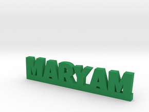 MARYAM Lucky in Green Processed Versatile Plastic