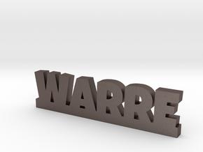WARRE Lucky in Polished Bronzed Silver Steel