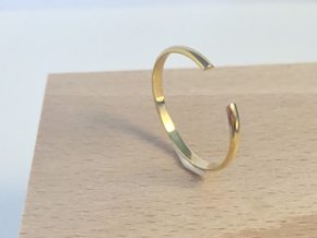 Open Ring in Polished Brass
