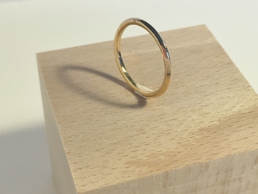 Penta Ring - An unconventional Wedding Ring in Polished Bronze: Medium