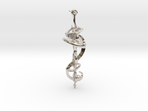N. 21 in Rhodium Plated