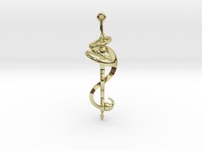 N. 21 bis in 18k Gold Plated Brass