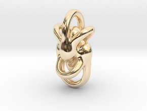 Peace of Love (3 sizes) in 14K Yellow Gold: Small