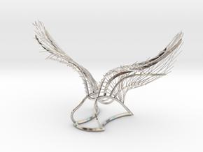 Original Angel Wings in Rhodium Plated Brass