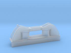 1/100 DKM Side Big Roller Fairlead in Smooth Fine Detail Plastic