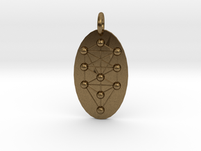 Tree of Life Medallion in Natural Bronze