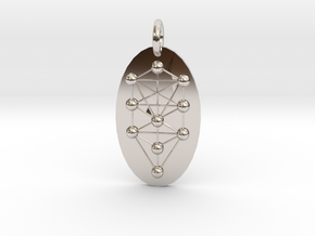 Tree of Life Medallion in Platinum