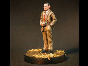 Ron Rolson: 28mm 1960s Ad Man in Smooth Fine Detail Plastic