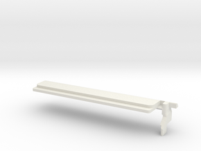 Cisco 1852 Coverplate Rounded in White Natural Versatile Plastic