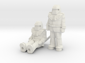 Miles Mayhem 2-pack, 35mm Minis in White Strong & Flexible