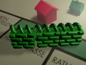 T.R.U.M.P. Wall for Monopoly in Green Strong & Flexible Polished