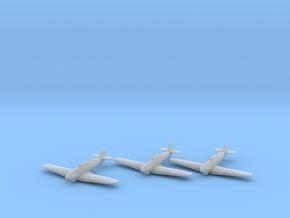 Hawker Hurricane Mk.IIb Trop 1:200 x3 FUD in Smooth Fine Detail Plastic