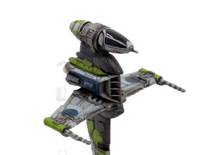 B-wing-E2 Cockpit in Smoothest Fine Detail Plastic