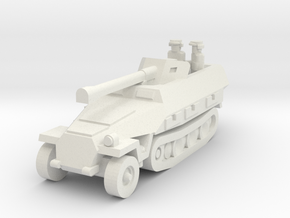 Sdkfz 251 Pak40 in White Natural Versatile Plastic