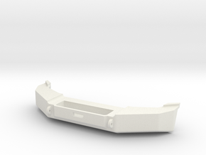 1:10 WJ Grand Cherokee Class 2 Front Bumper in White Natural Versatile Plastic