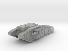 Mark 4 Male Heavy Tank KEYCHAIN in Metallic Plastic