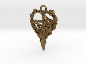 Maiden-of-the-heart-pendant-valentines-comp-entry- in Natural Bronze