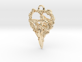 Maiden-of-the-heart-pendant-valentines-comp-entry- in 14K Yellow Gold