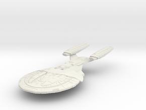 Armada Class V CarrierCruiser in White Natural Versatile Plastic