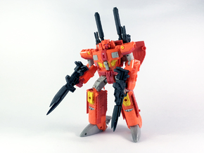 Apex Armory for TR Sentinel Prime (Large Blasters) in White Processed Versatile Plastic