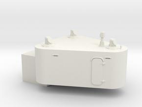 1/96 Germany Cabin 10.5m Rangefinder Top in White Natural Versatile Plastic