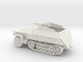 VBA Sd.kfz 250/8 Neue Stummel 1:48 28mm wargames in White Natural Versatile Plastic