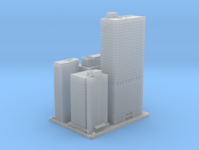 Four, Five, Seven and Eight Penn Center (1:2000) in Smooth Fine Detail Plastic