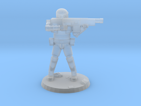 36mm Heavy Armor Trooper 3 in Smooth Fine Detail Plastic
