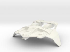 Federation Tactical Fighter in White Natural Versatile Plastic