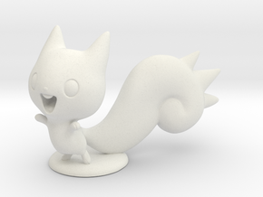 Pachirisu in White Natural Versatile Plastic