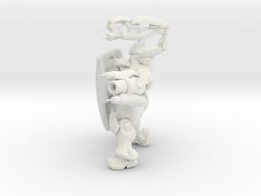 1/60 Terran Medic Healing Pose in White Strong & Flexible