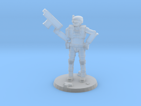 36mm Light Trooper 1 in Smooth Fine Detail Plastic