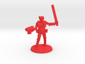 36MM Light Trooper 3 in Red Processed Versatile Plastic