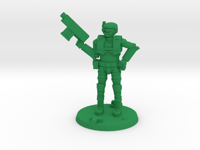 36mm Light Trooper 1 in Green Processed Versatile Plastic