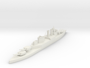HMS HOOD in White Strong & Flexible