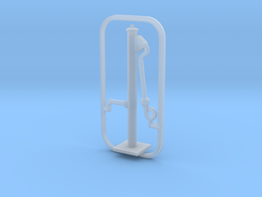 Water Hand Pump Type BK (H0 1:87)  in Smooth Fine Detail Plastic