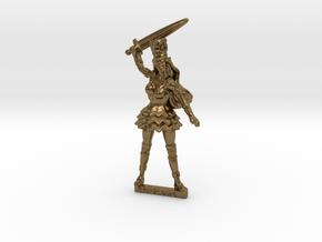 Elf Noblewoman RPG tabletop Mini 28mm  in Natural Bronze