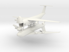 1/350 C-5 Galaxy (x2) in White Natural Versatile Plastic