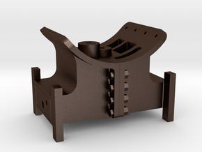 Mogul - Cylinder Saddle 2nd Design .625 Plus 1% in Matte Bronze Steel