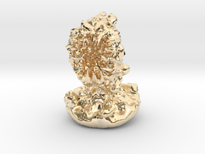 Flesh Eater in 14K Yellow Gold: Small