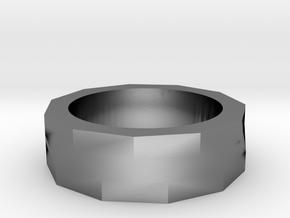 Eleven Twist in Polished Silver: 4.5 / 47.75