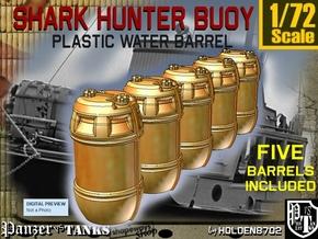 1-72 Shark Hunter Barrel in Frosted Ultra Detail
