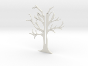 "Holder ""2d-tree-b"" in White Natural Versatile Plastic"