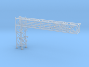 N Scale Crossing Gantry XL in Smooth Fine Detail Plastic