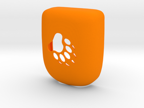 Paw - Omnipod Pod Case in Orange Processed Versatile Plastic