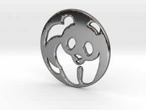 The Panda Pendant in Premium Silver