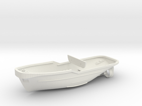Harbor Tug Hull 1:100 V.40 (Feature Complete) in White Strong & Flexible